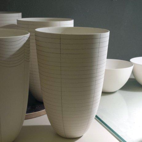 Schoemig Porzellan Werkstatt Berlin Vasen