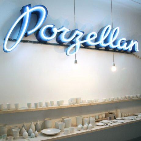 Schoemig Porzellan Werkstatt Berlin Showroom