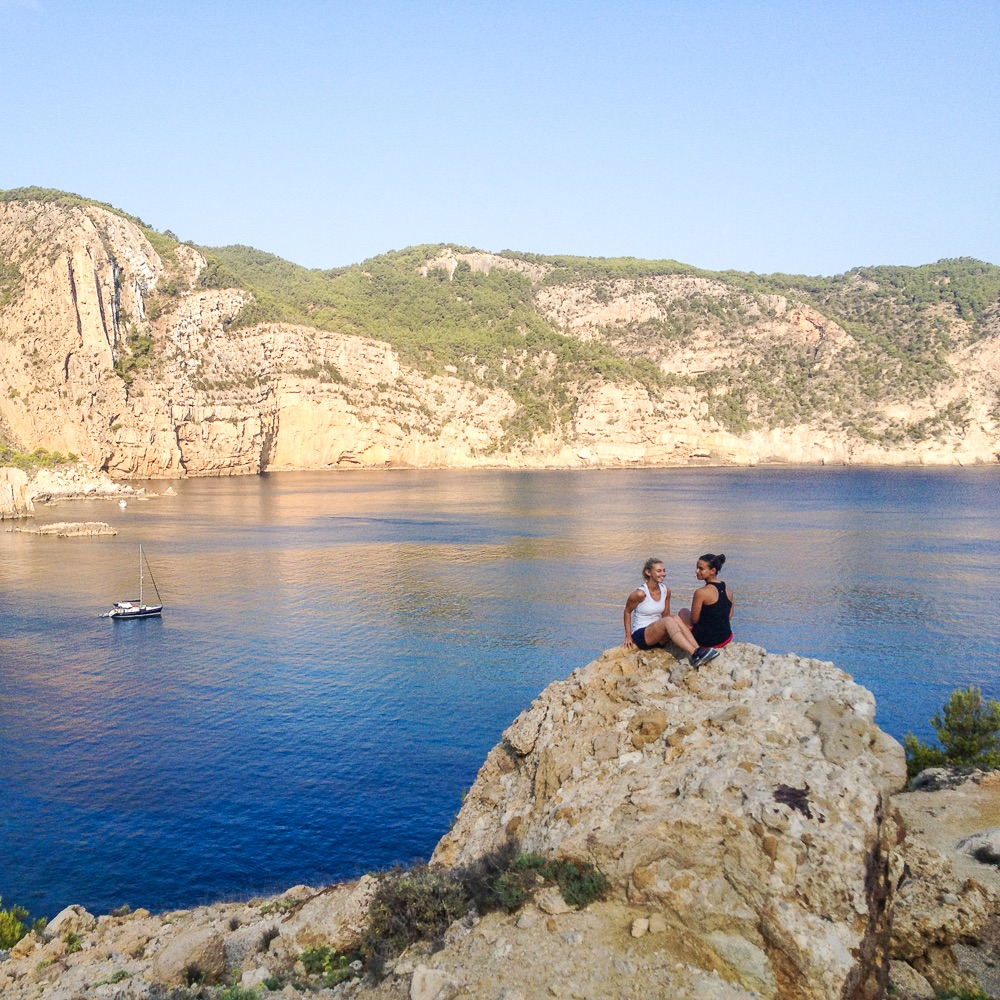 Top Hill Retreats Boot Camp Yoga Ibiza Aussicht