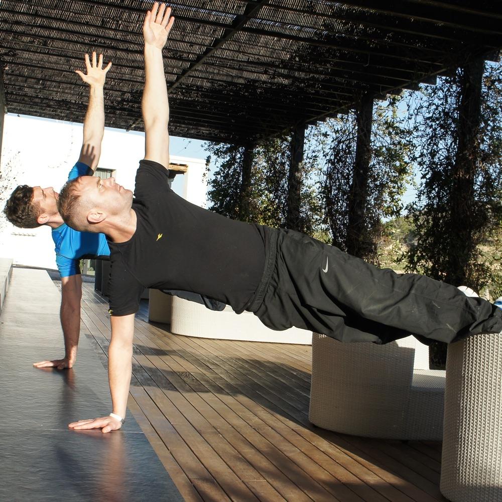 Top Hill Retreats Boot Camp Yoga Ibiza Übungen