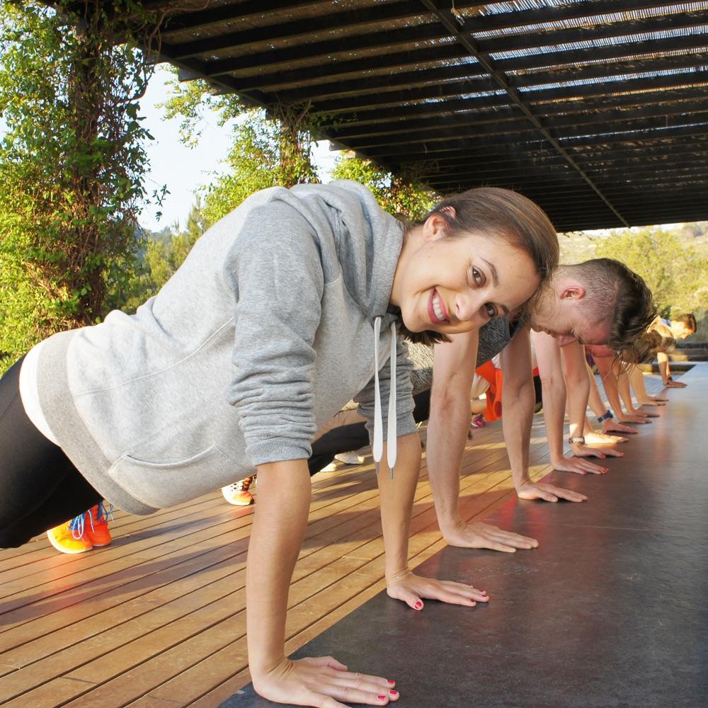 Top Hill Retreats Ibiza Workout