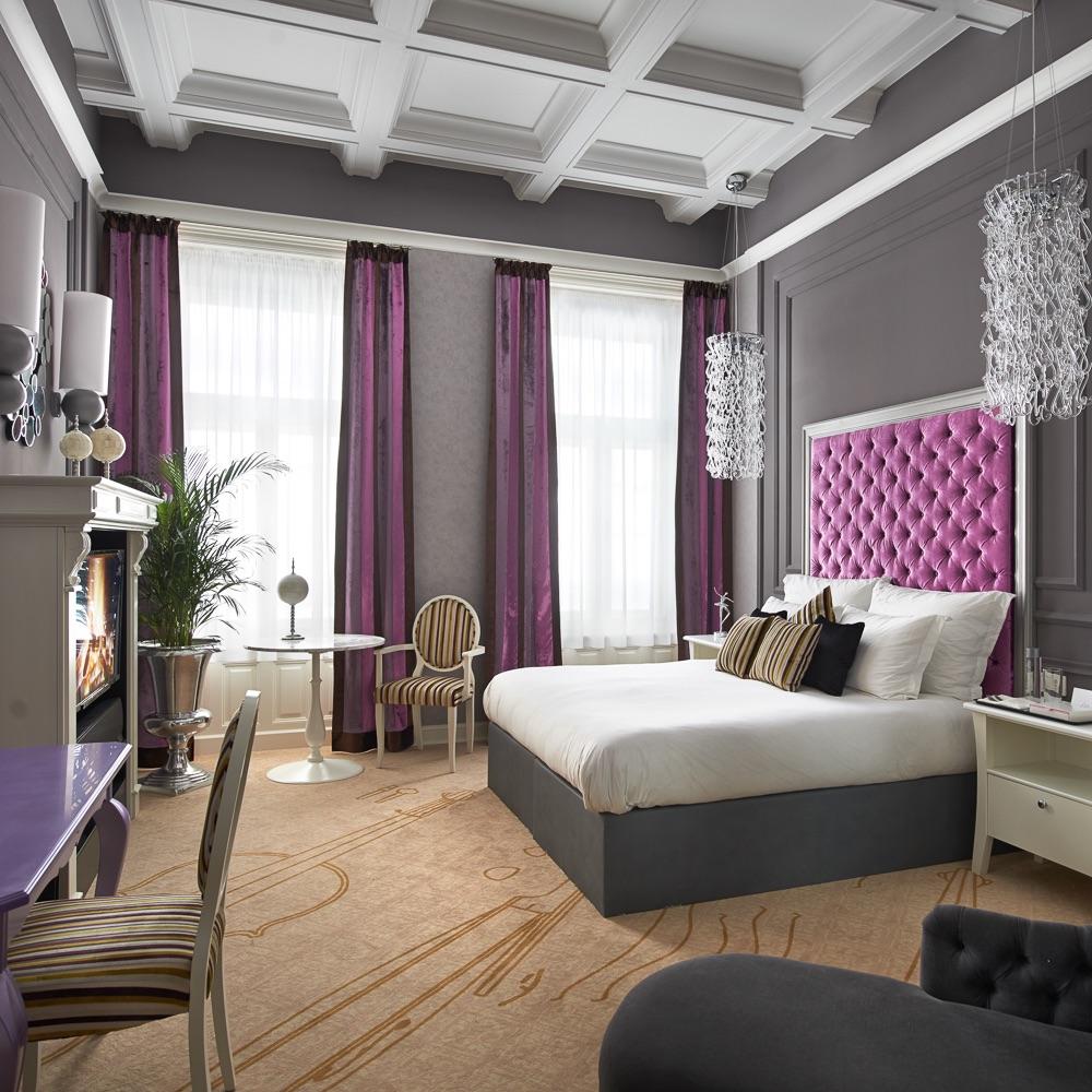 Aria Hotel Budapest Zimmer violett
