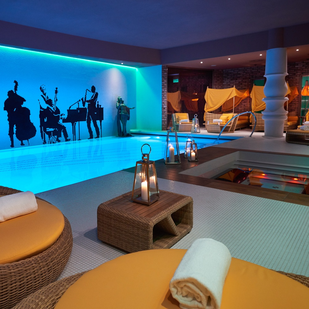 Aria Hotel Budapest Pool