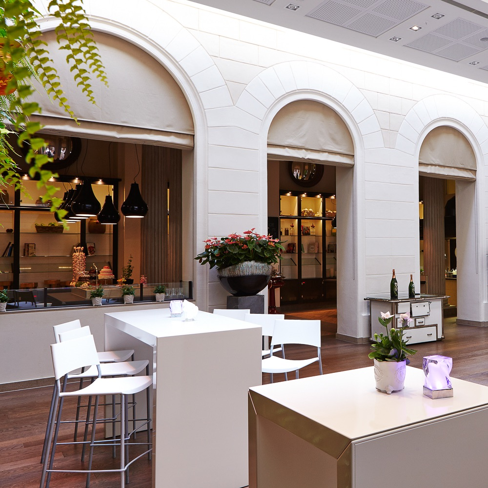 Die Küche Palais Hansen Kempinski Wien Außenbereich