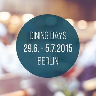Dining Days Berlin 2015