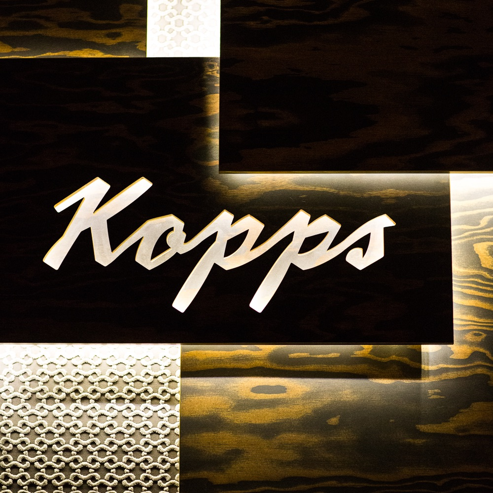 Kopps veganes Restaurant Berlin Mitte Schild