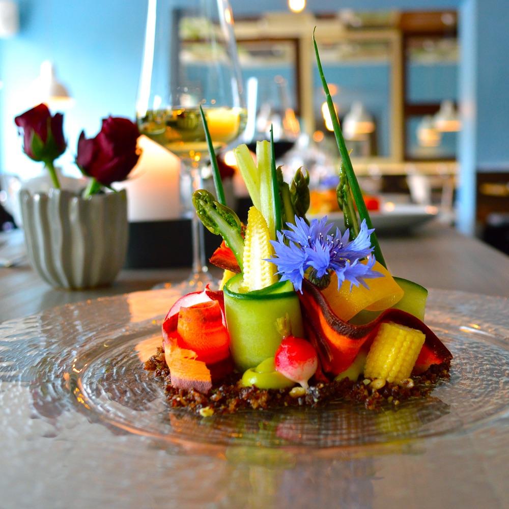 Kopps veganes Restaurant Berlin Mitte Gemüse