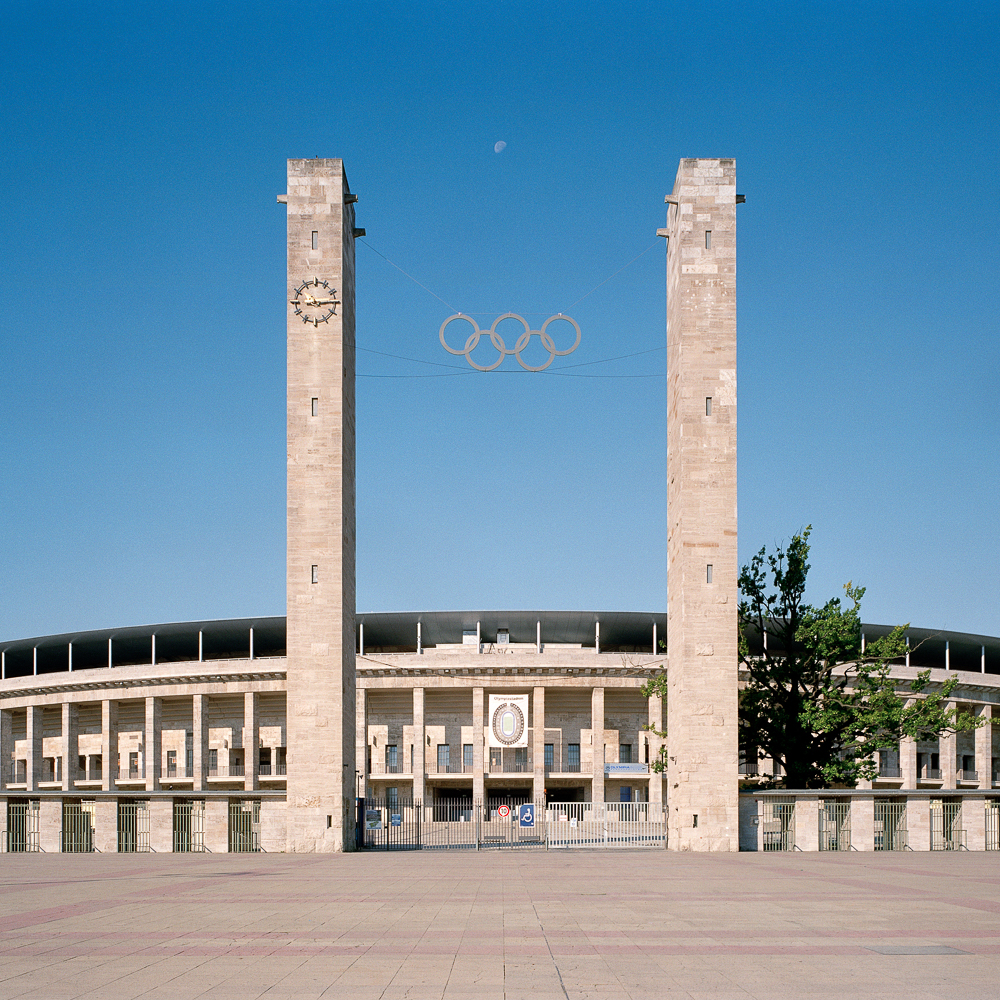Olympia Stadion Berlin ©Friedrich Busam & Olympiastadion Berlin GmbH