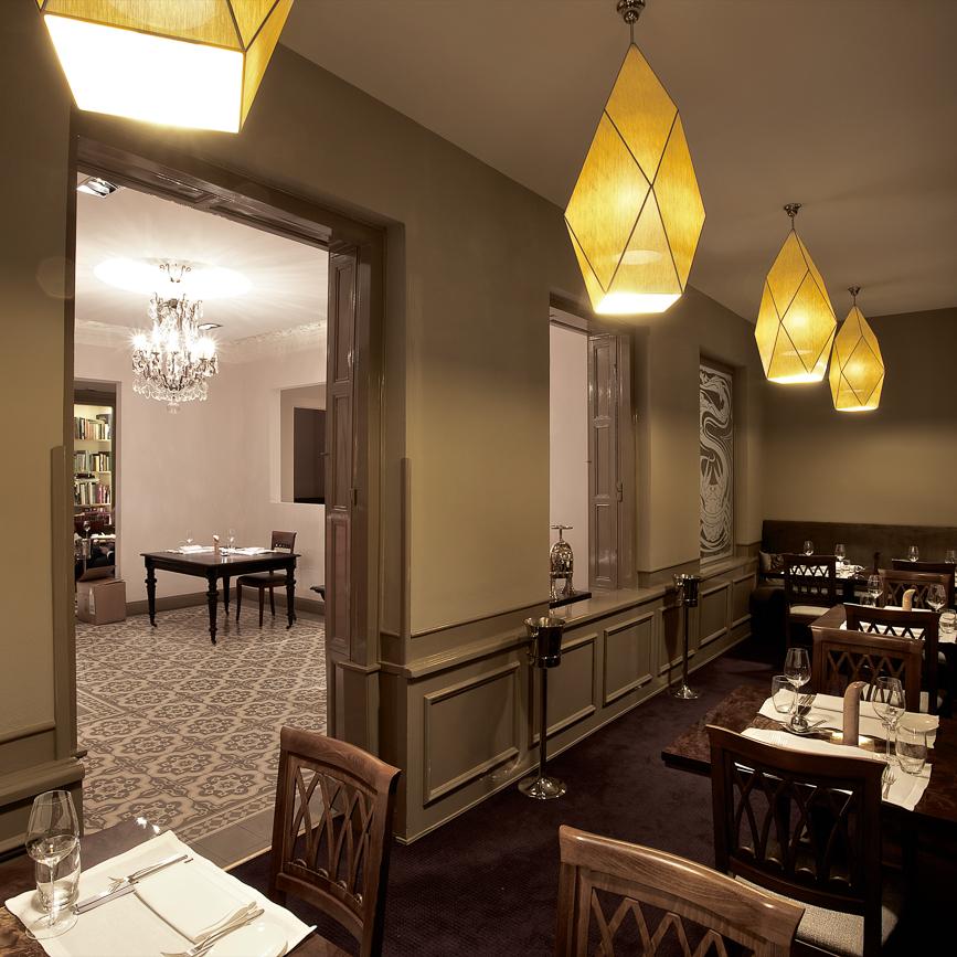 Anna Sgroi italienisches Restaurant Interieur