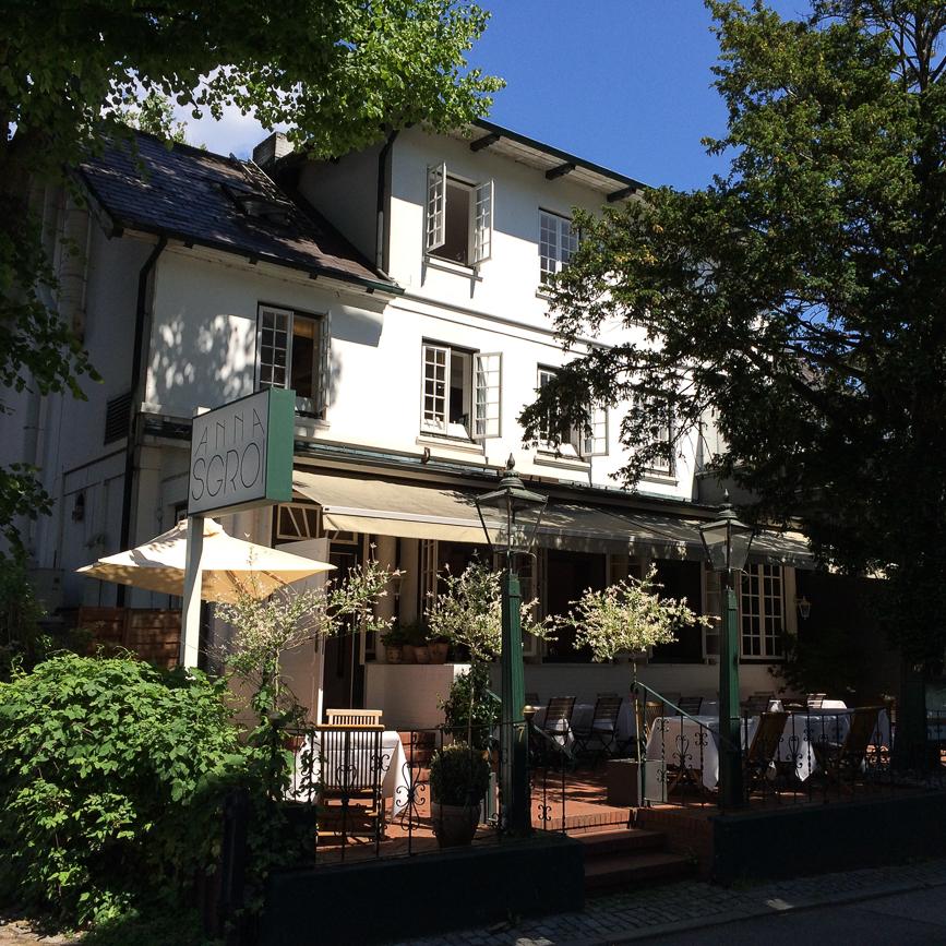 Anna Sgroi italienisches Restaurant Außenansicht