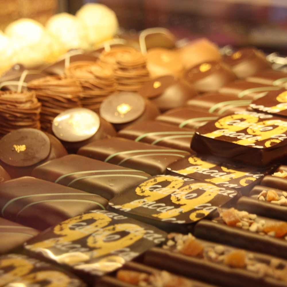 Götterspeise Süßwaren München Pralinen