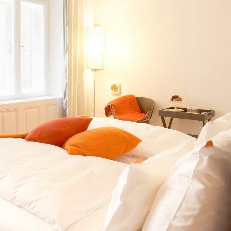 Hollmann Beletage Hotel Wien Bett