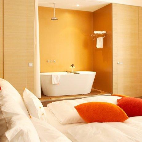 Hollmann Beletage Hotel Wien Zimmer mit Badewanne