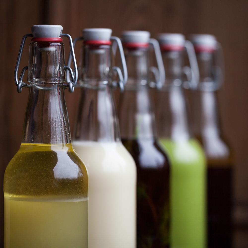 Horvath Restaurant Saftbegeleitung Berlin Flaschen