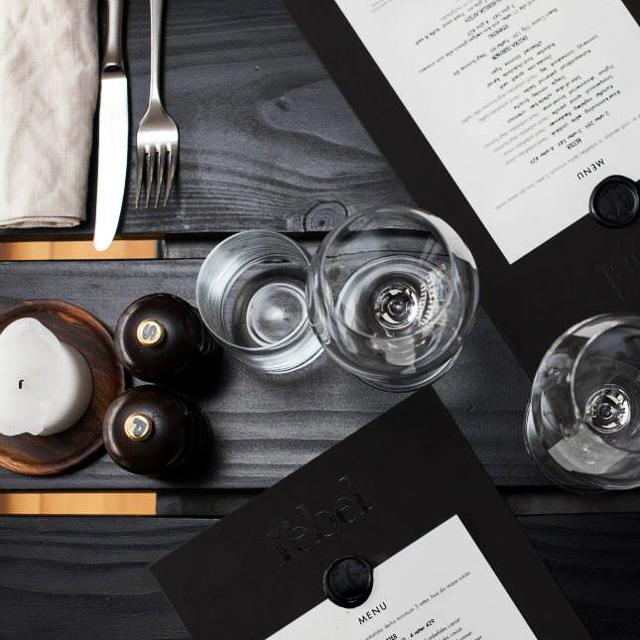 Rebel Restaurant Kopenhagen gedeckter Tisch