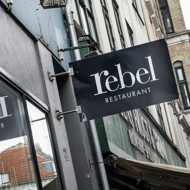Rebel Restaurant Kopenhagen Außenansicht