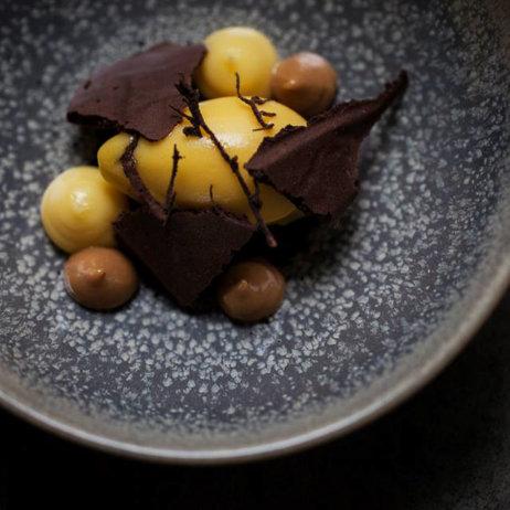 Rebel Restaurant Kopenhagen Dessert mit Schokolade