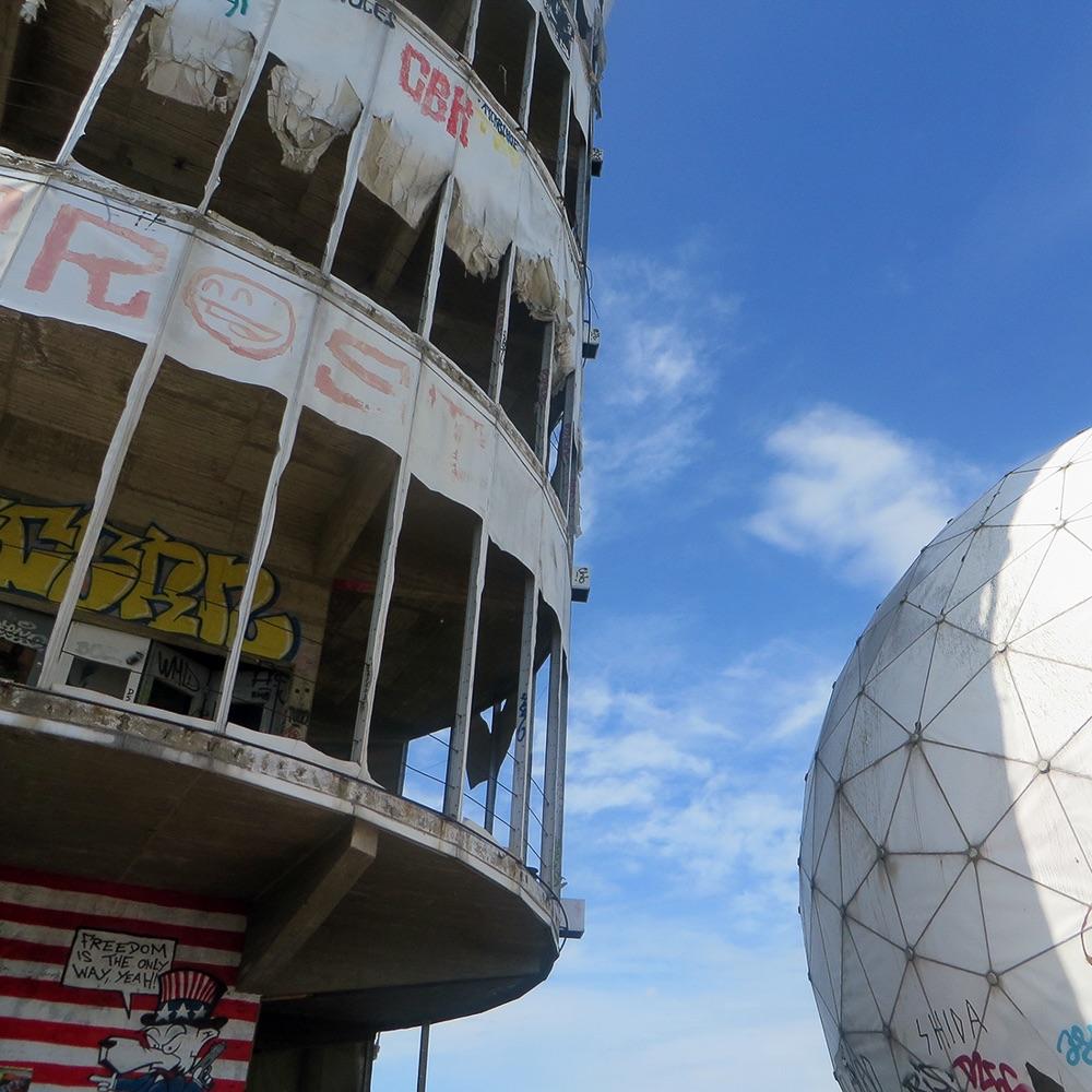 Secret Tours Stadtrundfahrten Berlin Teufelsberg