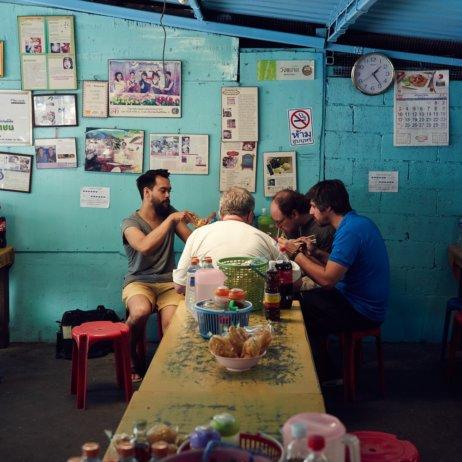 Soi Thai Pop Up Zürich Gastraum