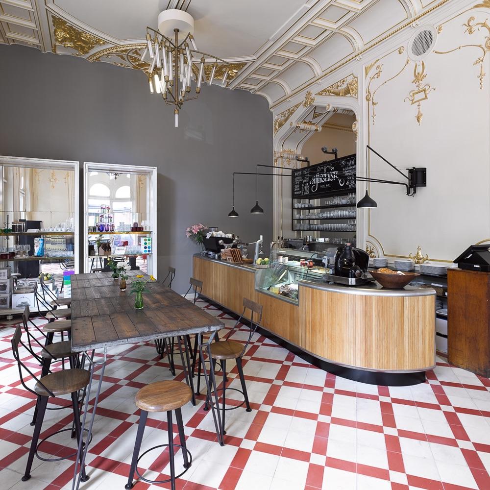 Supersense Store Wien Cafe