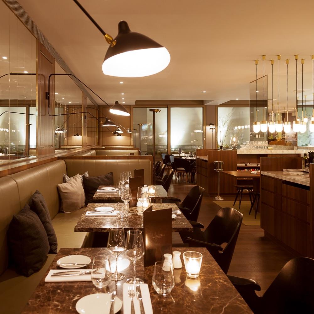 The Guesthouse Vienna Brasserie Bakery Innenraum