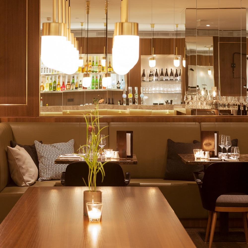 The Guesthouse Vienna Brasserie Bakery Tisch