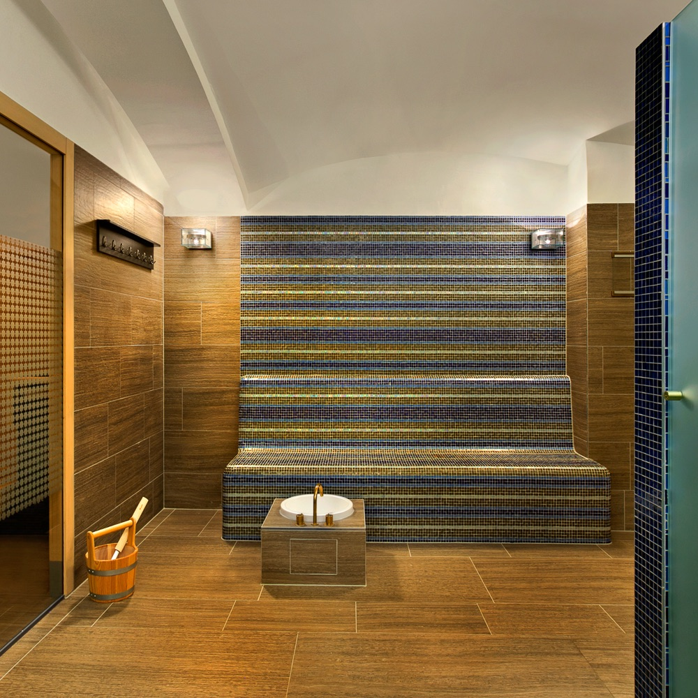The Spa Palais Hansen Kempinski Wien Sauna