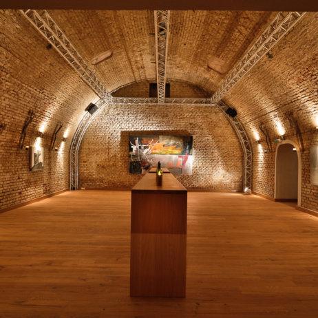 Tresor Vinum Wein Klub Keller München Veranstaltungsaal
