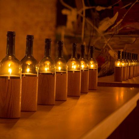 Tresor Vinum Wein Klub Keller München Beleuchtung
