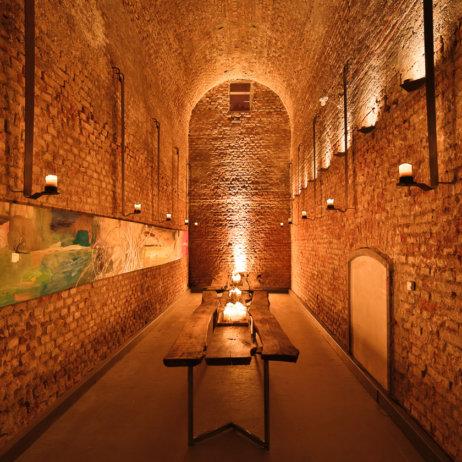 Tresor Vinum Wein Klub Keller München Innenraum