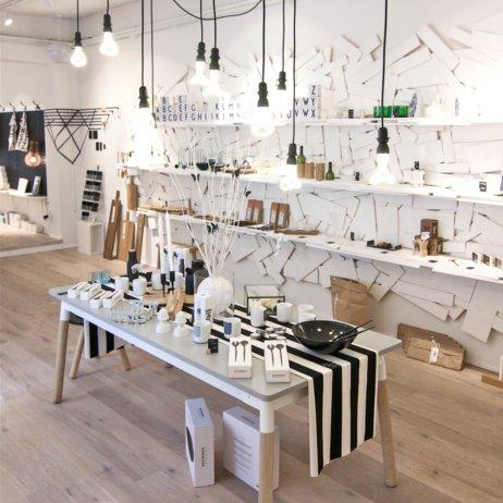Weißglut Design Concept Store München Tisch