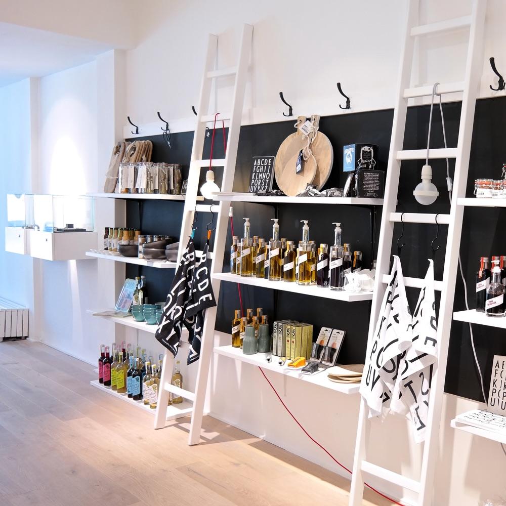 Weißglut Design Concept Store München Leitern