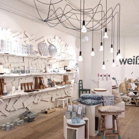 Weißglut Design Concept Store München Lampen