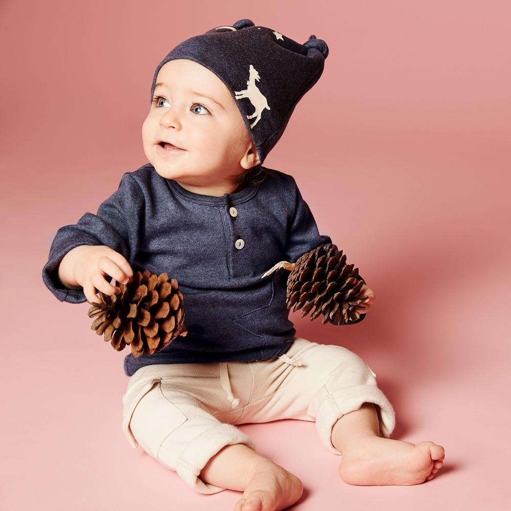 Bergflocke ökologische Kindermode Schweiz Junge