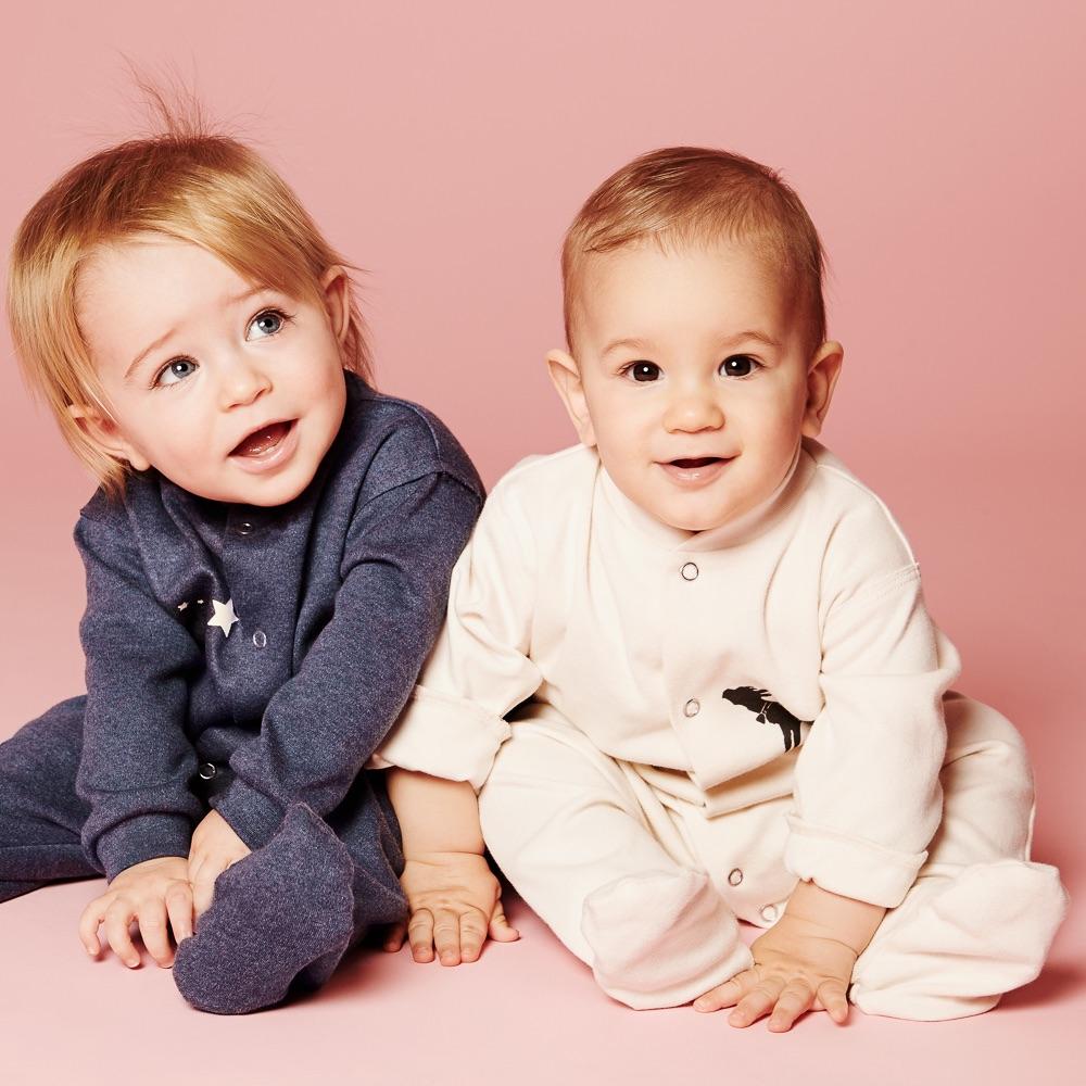 Bergflocke ökologische Kindermode Schweiz Babys