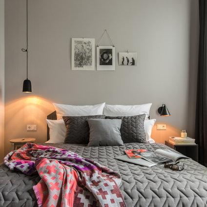 Bold Hotel München Giesing Bett