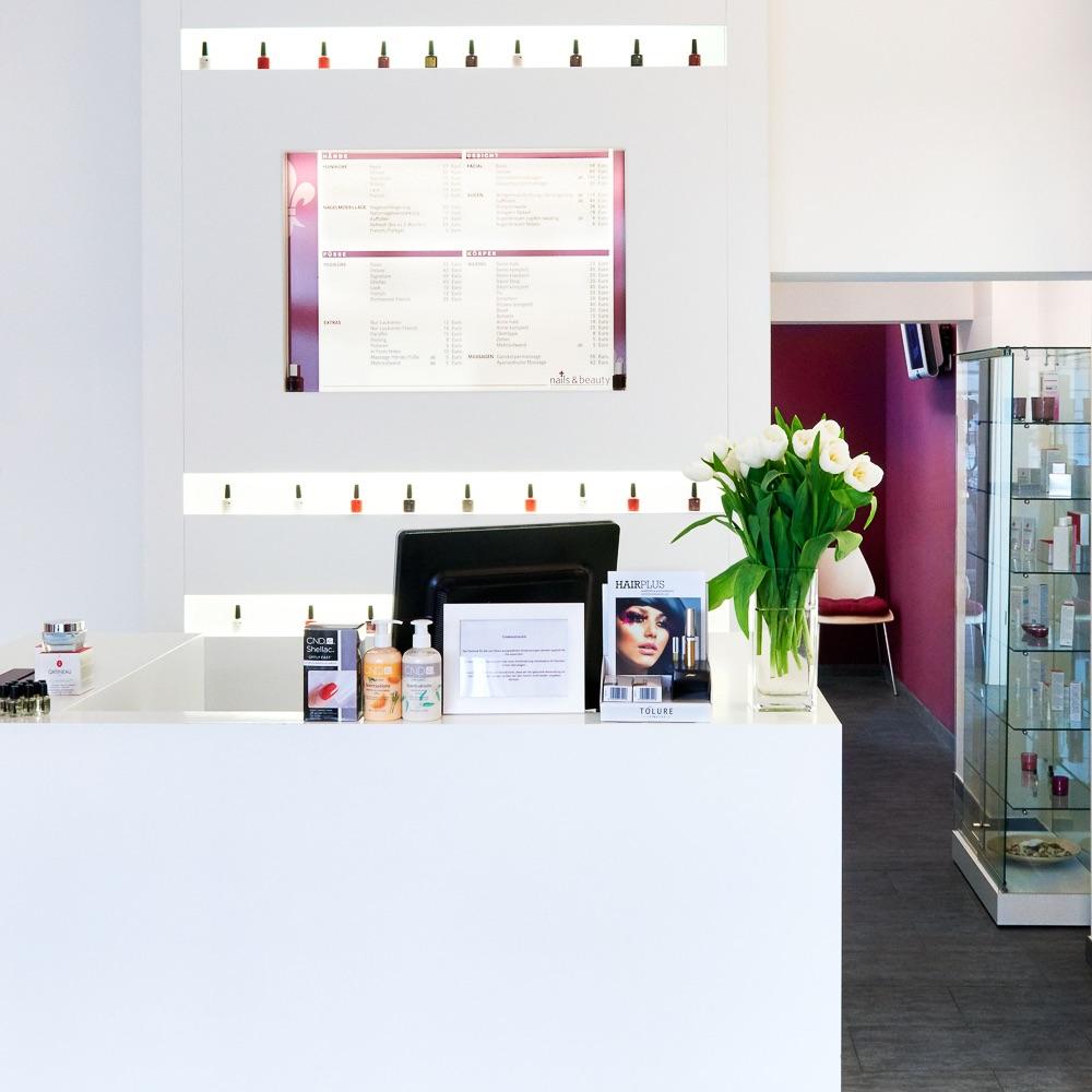 Eva Bogner Nails Beauty Gärtnerplatz Rezeption