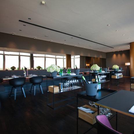 Hugos Restaurant Interconti Hotel Berlin Gastraum