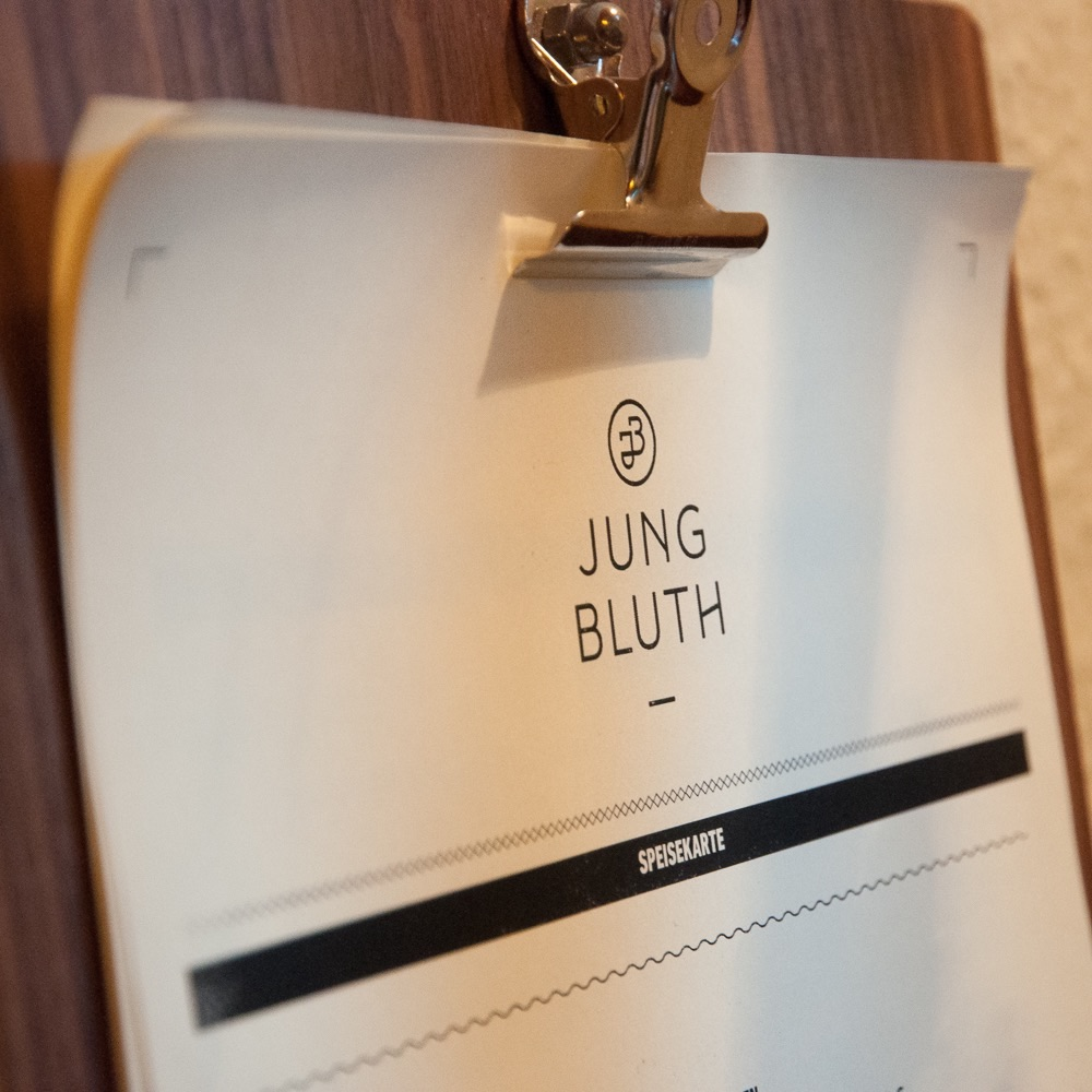 Jungbluth Restaurant Steglitz Karte