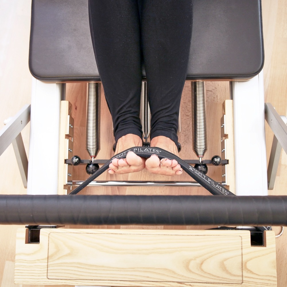 Keep in Motion Pilates München Beine