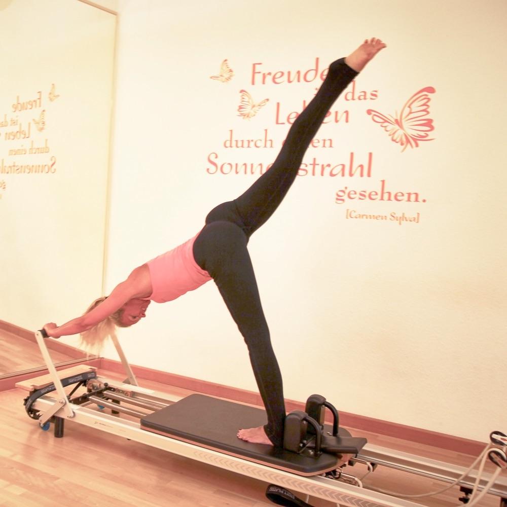 Keep in Motion Pilates München Übung