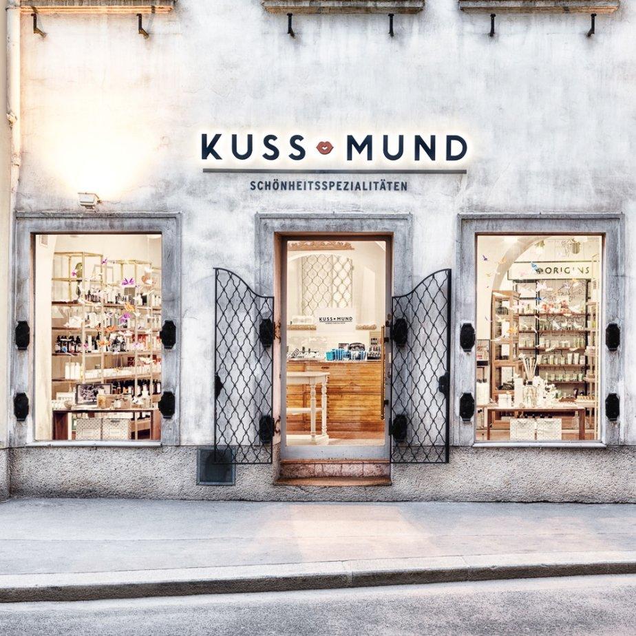 Kussmund Beauty Shop Wien Außenansicht