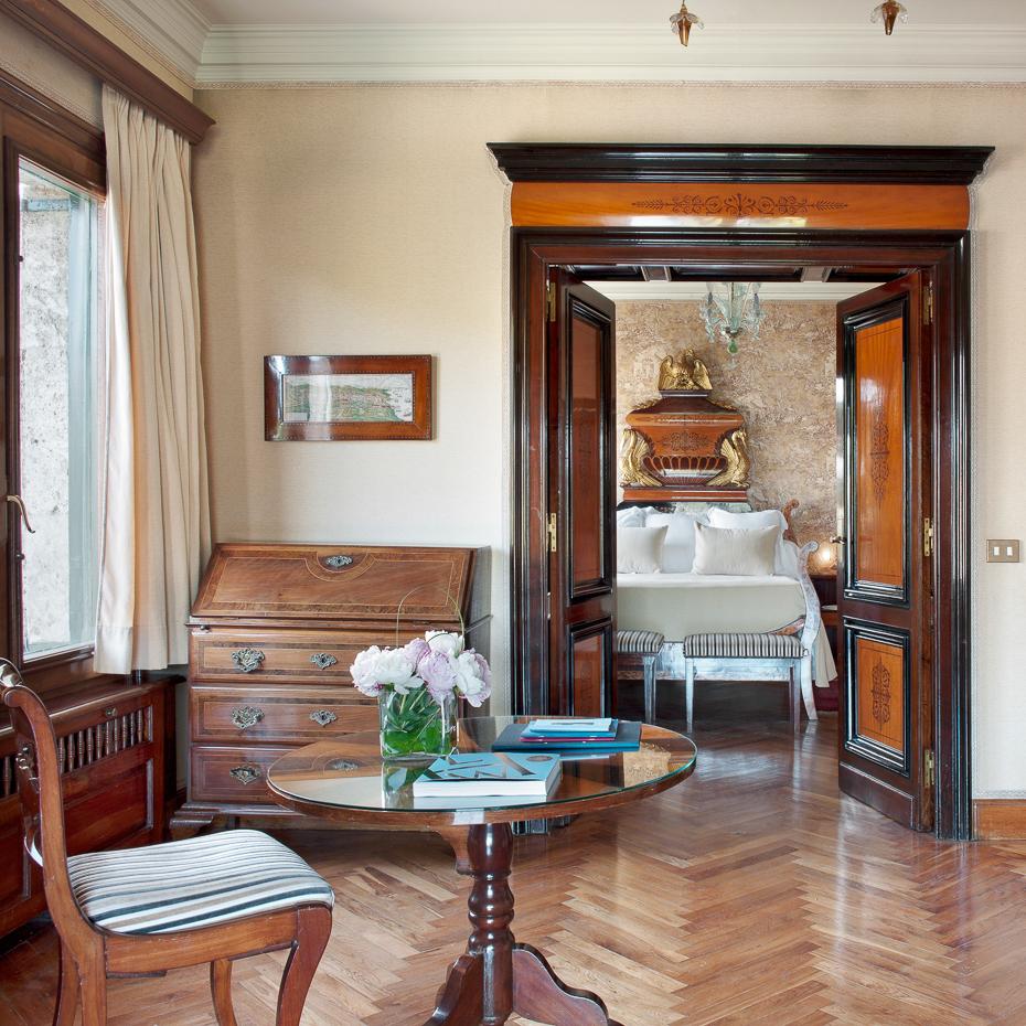 La Gavina Luxushotel am Meer Spanien Wohnbereich