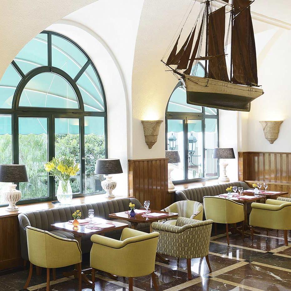 La Gavina Luxushotel am Meer Spanien Restaurant