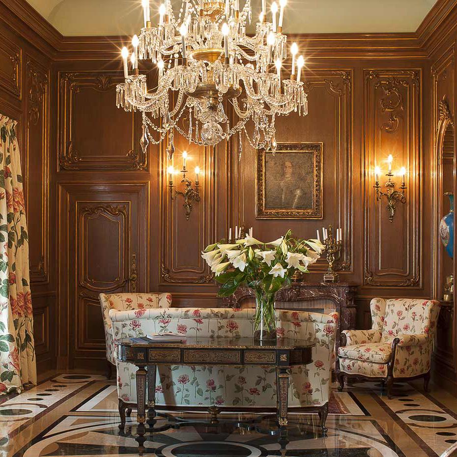 La Gavina Luxushotel am Meer Spanien Sitzecke