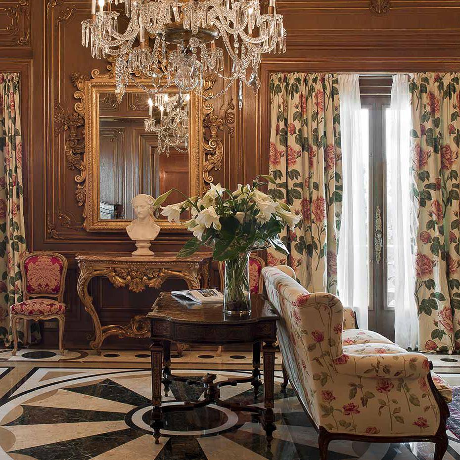 La Gavina Luxushotel am Meer Spanien Wohnzimmer