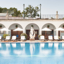 La Gavina Luxushotel am Meer Spanien Pool