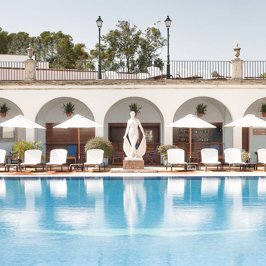 La Gavina Luxushotel am Meer Spanien Pool