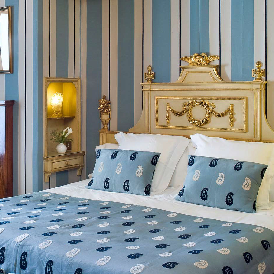 La Gavina Luxushotel am Meer Spanien Bett