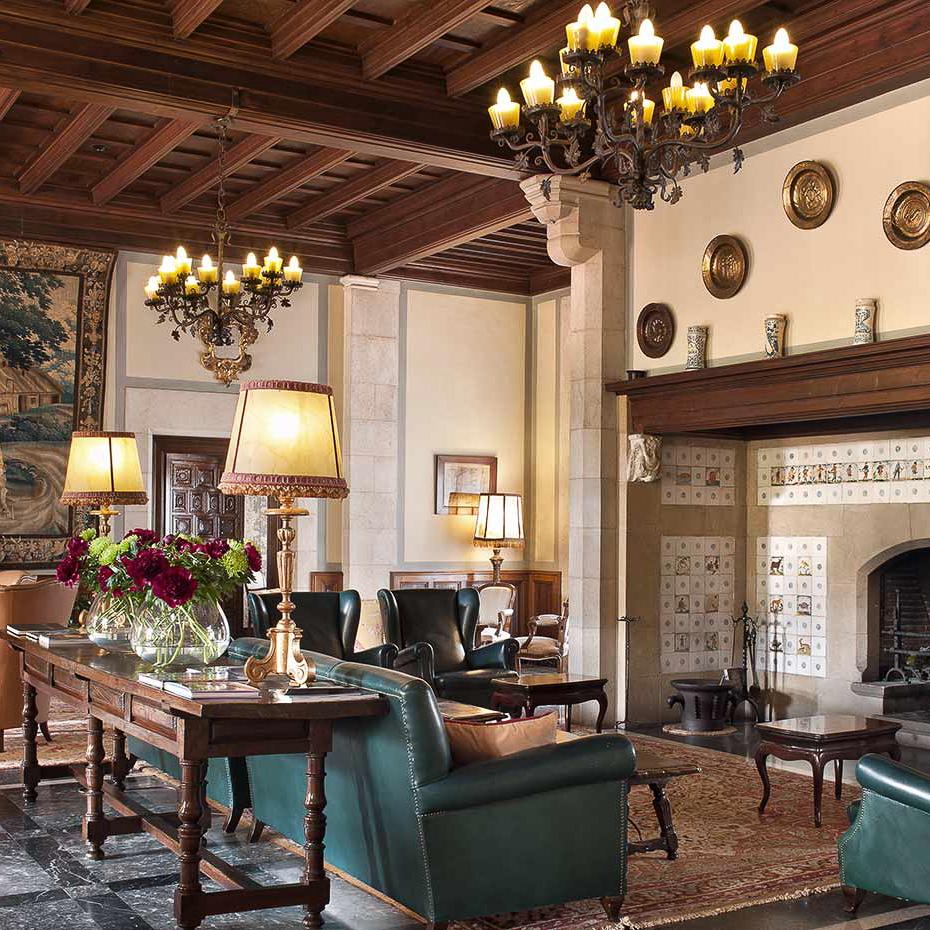 La Gavina Luxushotel am Meer Spanien Lounge